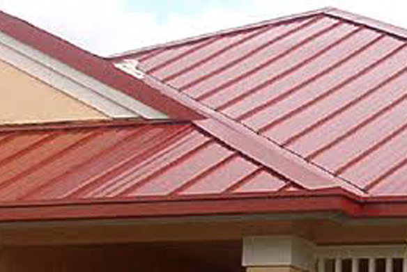 Evergreen Metal Roof Barn Red Metal Roof